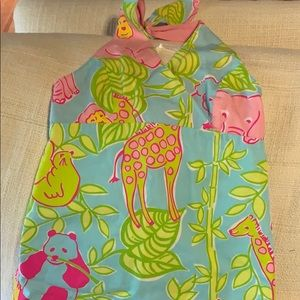 Lilly Pulitzer halter dress size 7